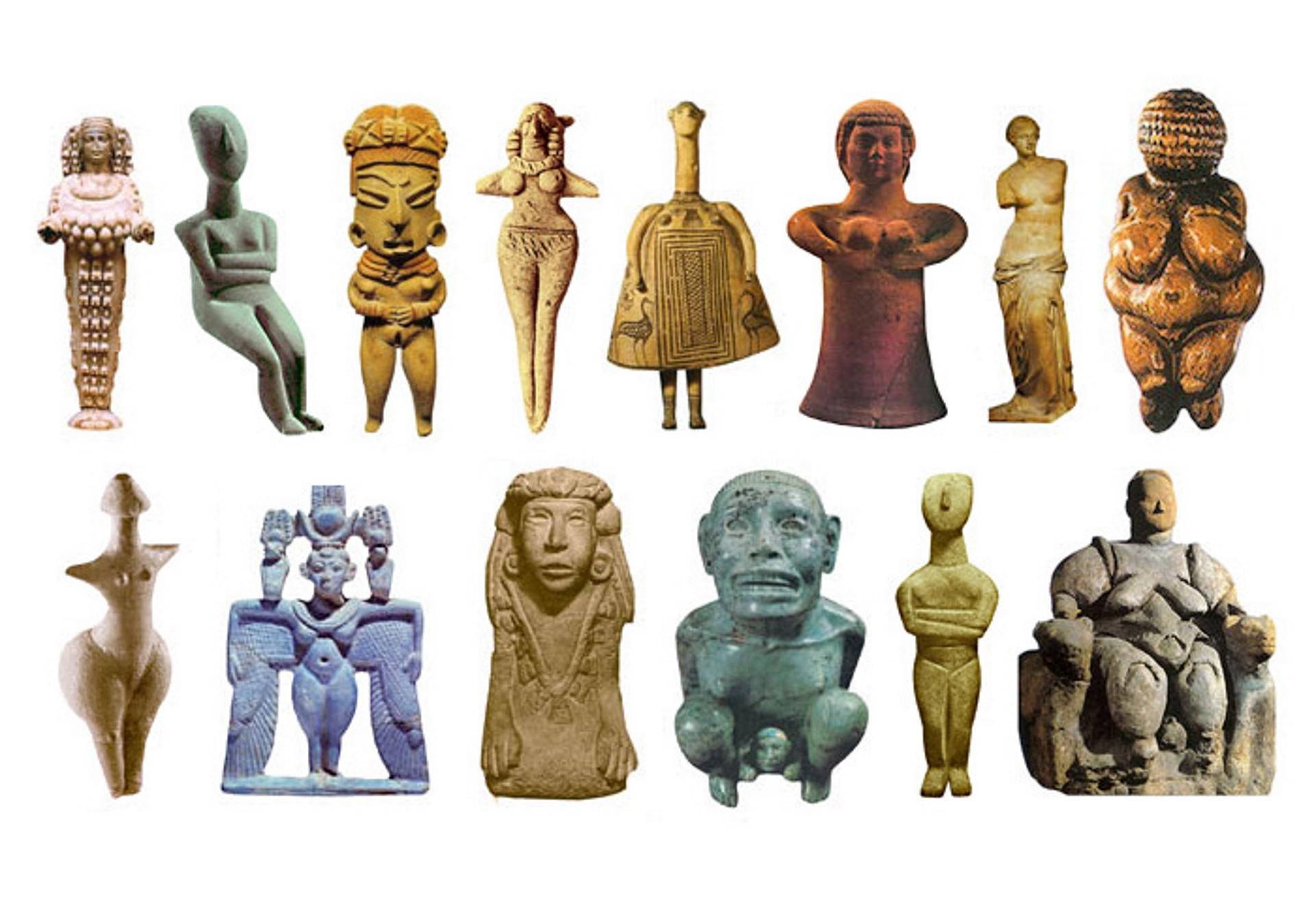 Quando deus era uma mulher: divindades femininas da antiguidade